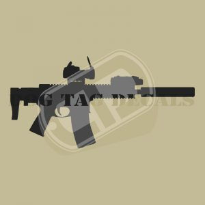Rifles Decals